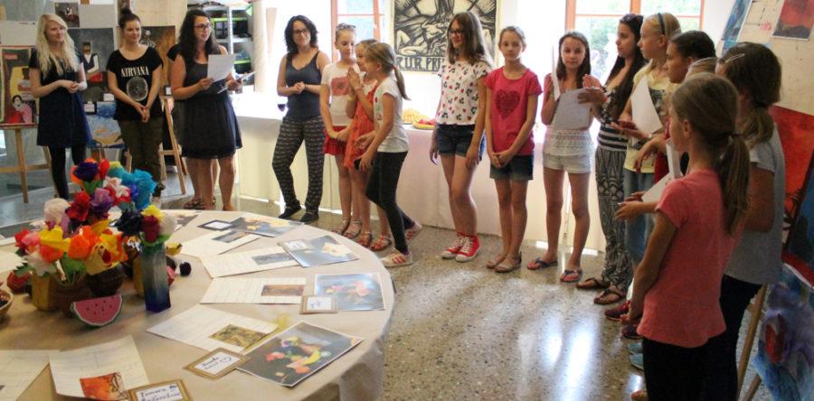 Umelecký tábor VSG 2016