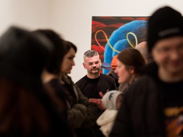 Boris Sirka – From Pleasure to Anxiety and Back, opening