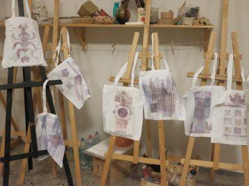 Experimental workshop – textile