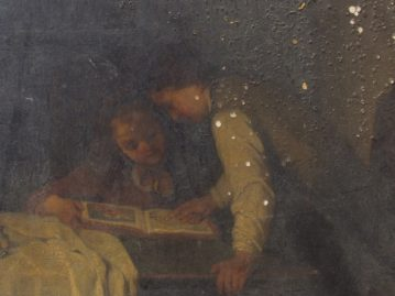 Accompanying program to the exhibition Saved – Restored artworks damaged by fire