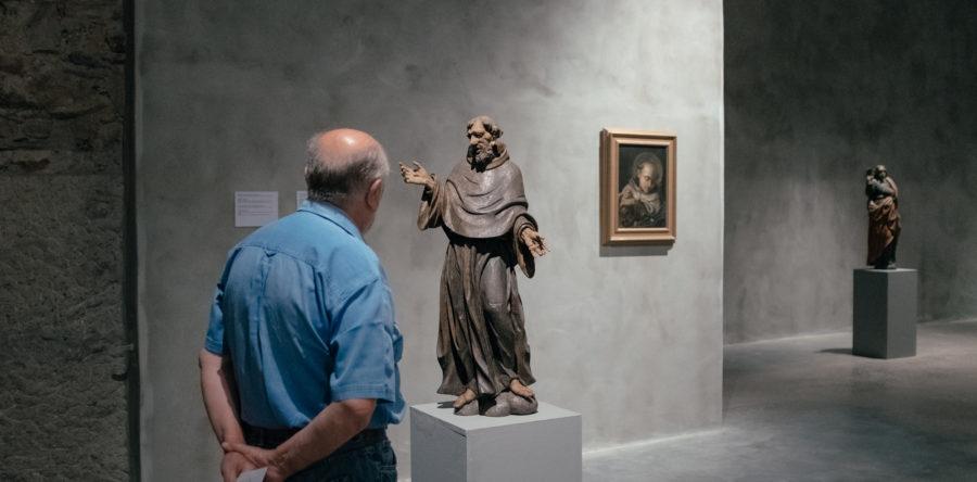 Socha, duch, obraz, svetlo – Príbehy zbierky starého umenia, sprístupnenie výstavy
