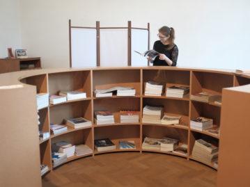 Revitalizácia knižnice Východoslovenskej galérie