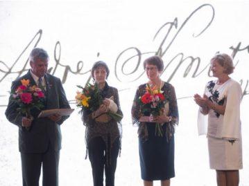 Congratulations to Helena Němcová on receiving an Andrej Kmeť Award