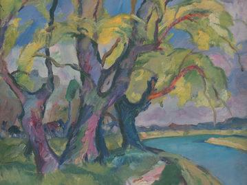Accompanying program to the exhibition The Art of Subcarpathian Rus 1919 – 1938 / Czechoslovak Footprint