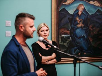 Umenie Podkarpatskej Rusi 1919 – 1938 / Československá stopa, otvorenie výstavy