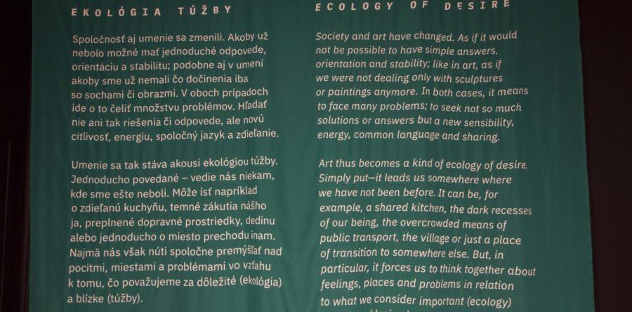 Ecology of desire – Exhibiton of finalists of the Oskár Čepan Award