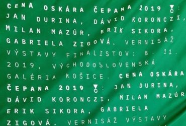 Exhibiton of finalists of the Oskár Čepan Award