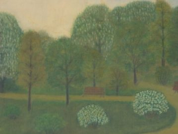 Veľkonočná pohľadnica – Kvitnúce stromy