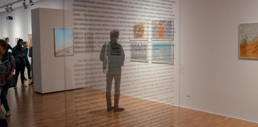 František Veselý – Landscape of a New Kind / Jozef Haščák – Double Transposition, opening