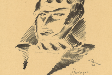Vlastislav Hofman F. M. Dostojevskij : Cyklus třiceti kreseb : Dvojník (1917)