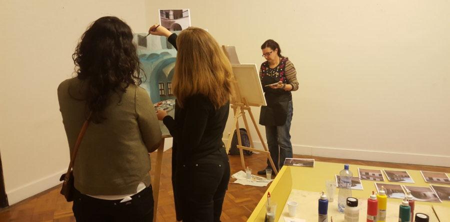 Plenér – kurz maľby 2016/3