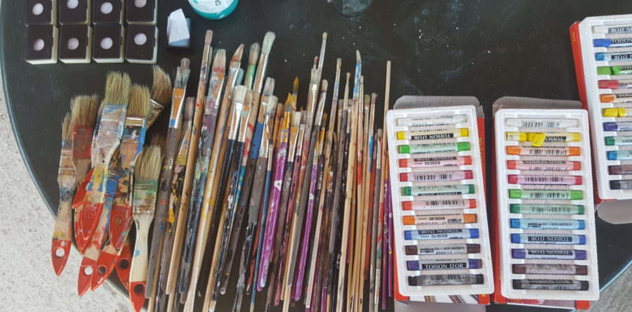 Plenér – kurz maľby 2016/5
