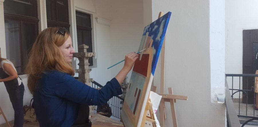 Plenér – kurz maľby 2016/7