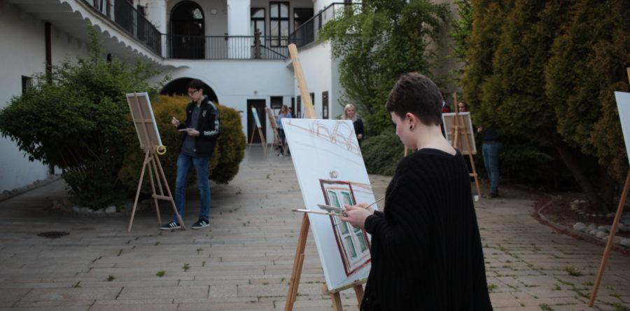 Plenér – kurz maľby 2016/1